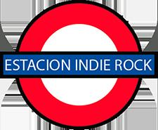 logotipo antiguo estacion indie rock