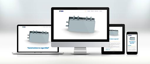 imagen corporativa smprotec, diseño web responsive, diseño gráfico web, el gato que ladra