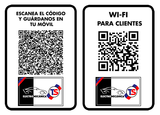 cartelería, código QR, diseño gráfico en Zaragoza, el gato que ladra