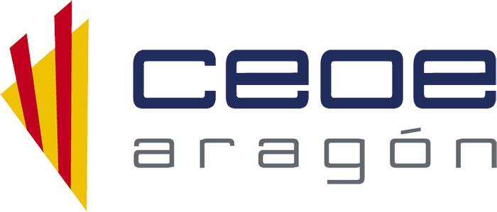 logotipo ceoe aragón, maquetación, diseño editorial, zaragoza, el gato que ladra
