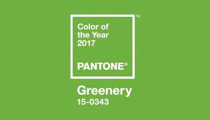 El Greenery, elegido como el Color del Año para 2017