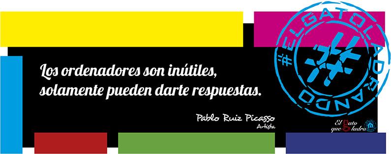 Frase del día, Pablo Ruiz Picasso sobre los ordenadores