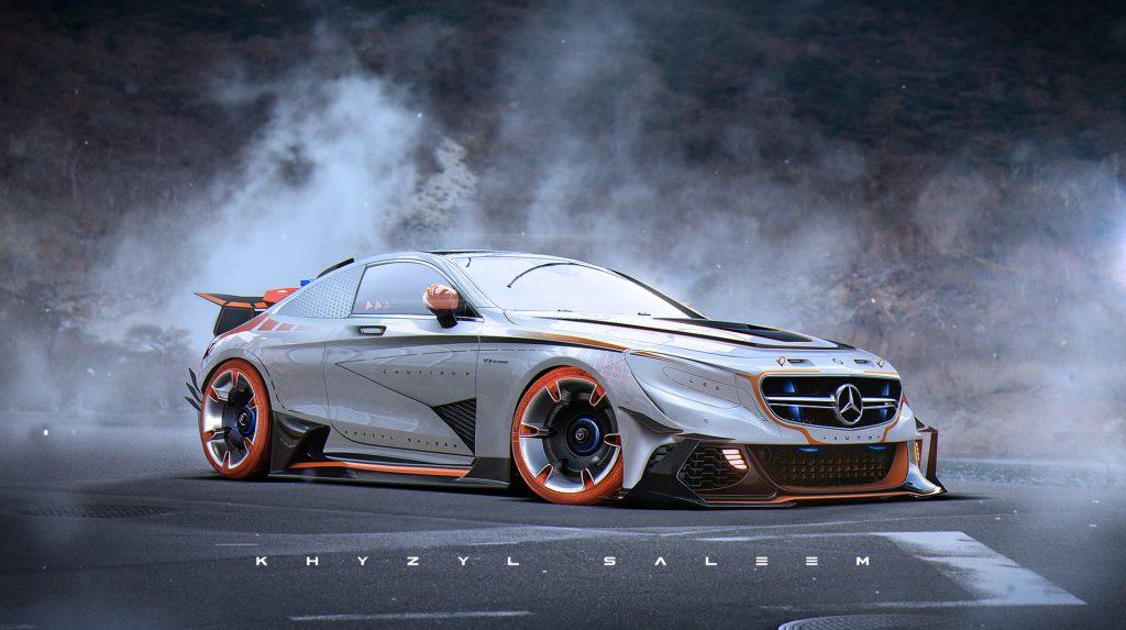Los coches futuristas de Khyzyl Saleem