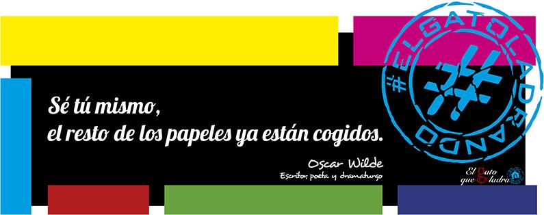 Frase del día, Oscar Wilde sobre los papeles