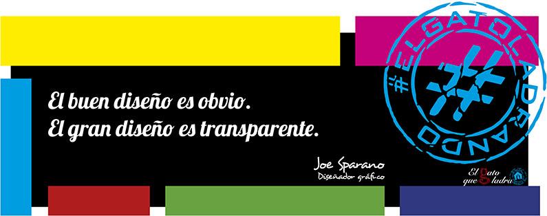 Frase del día, Joe Sparano sobre el diseño