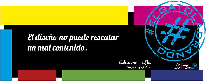 Frase del día, Edward Tufte sobre el diseño