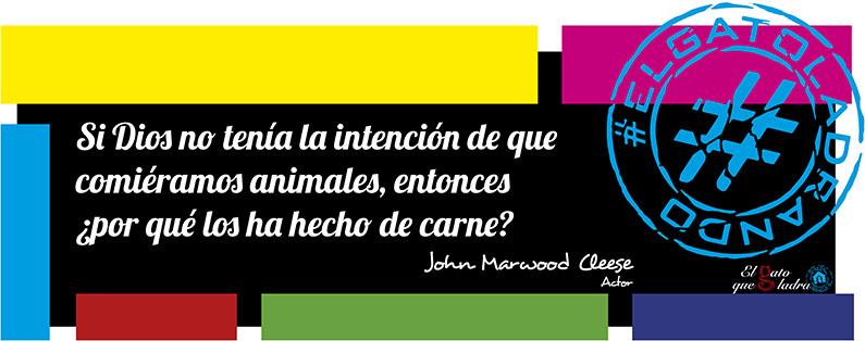 Frase del día, John Marwood Cleese sobre  los animales