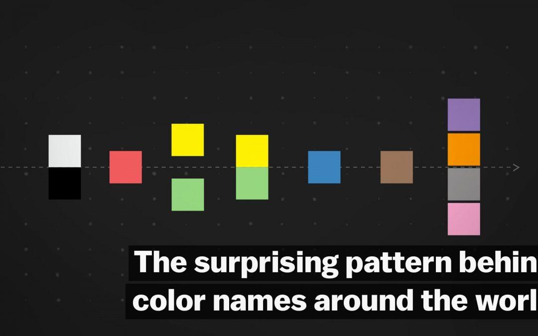 La lógica de la identificación de colores y sus diferencias a través del mundo