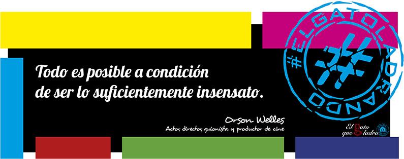 Orson Welles, frase del día sobre la insensatez