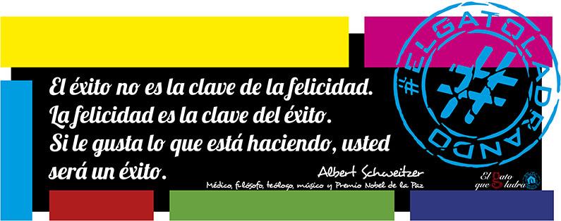 Albert Schweitzer, frase del día sobre la felicidad