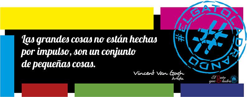 Vincent Van Gogh, frase del día sobre el impulso