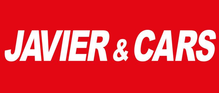 logotipo Javier&Cars, roll up, banderola, material para ferias, stands, diseño gráfico y web, zaragoza, el gato que ladra