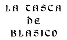 Publicidad para la Tasca de Blasico