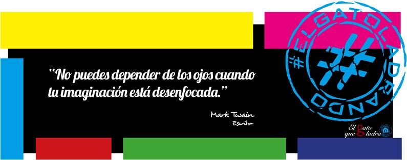 Frase del día, Mark Twain sobre la imaginación