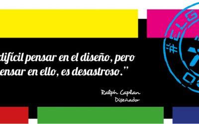 Frase del día, Ralph Caplan sobre el desastre