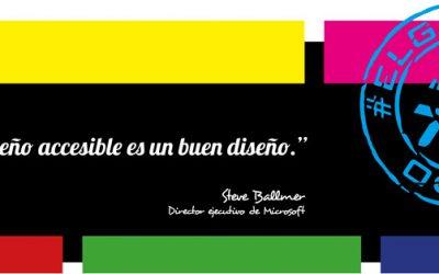 Frase del día, Steve Ballmer sobre el diseño accesible