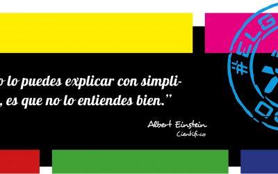 Frase del día, Albert Einstein sobre la simplicidad